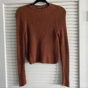 American Apparel knit sweater, size XS